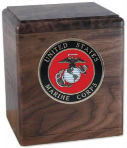 Freedom Military Hardwood Cremation Urn
