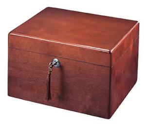 Cherry Hardwood Cremation Urn