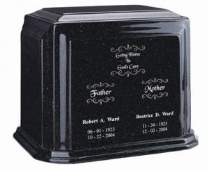 Companion Cultured Granite Cremation Urn