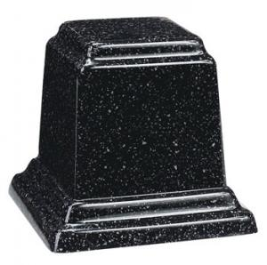 Small Square Cultured Granite Keepsake Urn