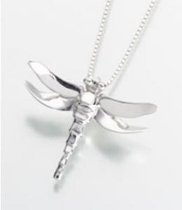 Dragonfly Cremation Urn Pendant