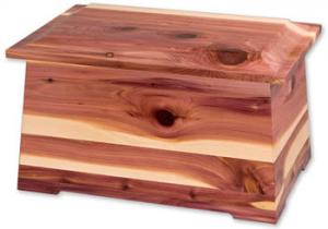 Sonata Cedar Wood Cremation Urn