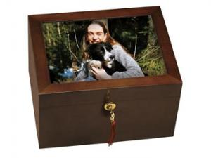 Large Photo Pet Cremation Urn