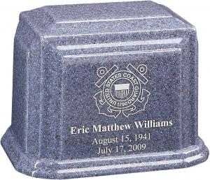Custom Cultured Granite Cremation Urn