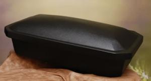 Medium Black Pet Casket