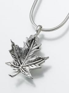 Maple Leaf Keepsake Cremation Urn