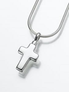 Small Cross Keepsake Cremation Urn