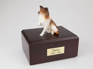 Collie, Paw Up  Dog Figurine Cremation Urn