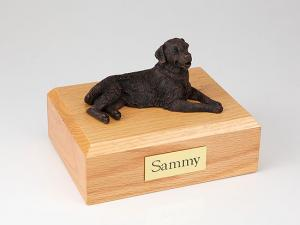 Golden Retriever, Bronze  Dog Figurine Cremation Urn