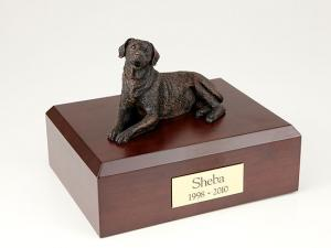 Labrador, Bronze Dog Figurine Cremation Urn
