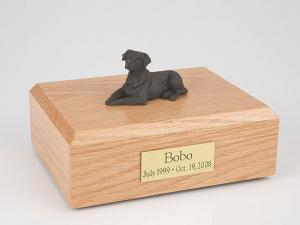Labrador, Chocolate Dog Figurine Cremation Urn