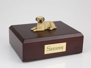 Mastiff Dog Figurine Cremation Urn