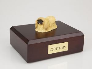Pekingese Dog Figurine Cremation Urn
