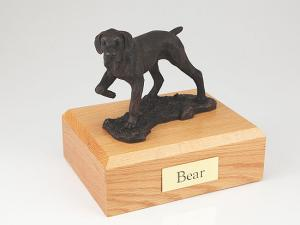 Pointer, Bronze Dog Figurine Cremation Urn