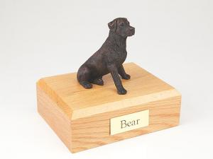 Rottweiler, Bronze  Dog Figurine Cremation Urn