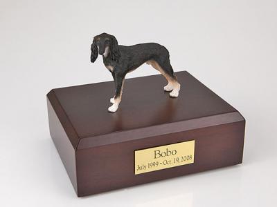 Saluki Dog Figurine Cremation Urn