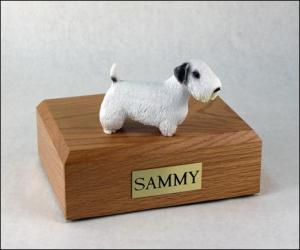 Sealyham Terrier Dog Figurine Cremation Urn