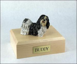 Shih Tzu Dog Figurine Cremation Urn