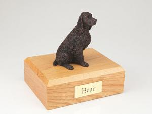 Springer Spaniel, Bronze Dog Figurine Cremation Urn