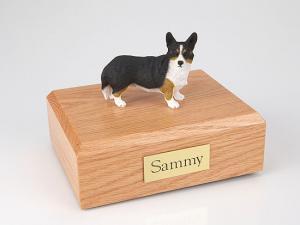 Welsh Corgi, Cardigan Dog Figurine Cremation Urn