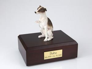 Whippet, Brown Dog Figurine Cremation Urn