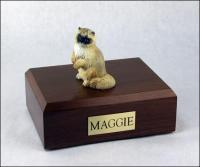 Ragdoll Cat Figurine Cremation Urn