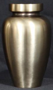 Spartan Antique Bronze Cremation Urn