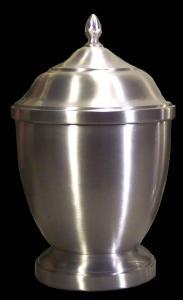 Small Pewter Jacinta Cremation Urn