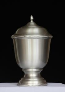 Pewter Chester Cremation Urn