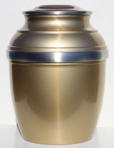 Pewter Gold Sophronia Cremation Urn