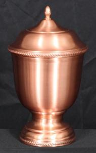 Copper Dalia Cremation Urn