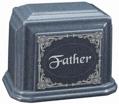 Loving Father Cultured Granite Cremation Urn