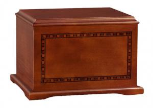 Cherry Cremation Urn with Inlay