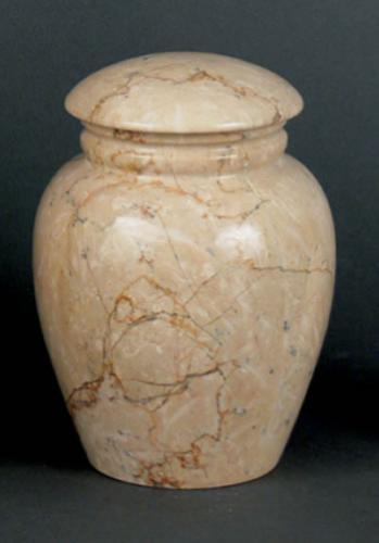 Grecian Travertine Keepsake Cremation Urn