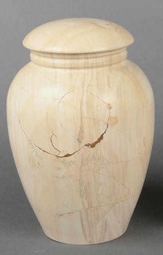 Teak Stonewood Adult Cremation Urn