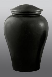 Arno Black Marble Adult Cremation Urn