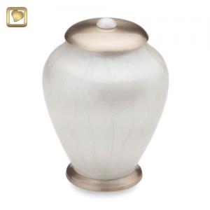 Simplicity Pearl Pet Cremation Urn