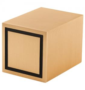 Cube Bronze Companion Cremation Urn