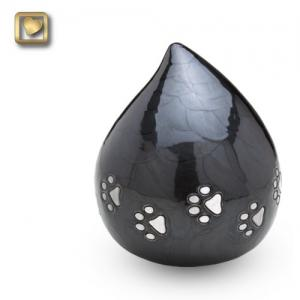 Lovedrop Pet Cremation Urn Midnight