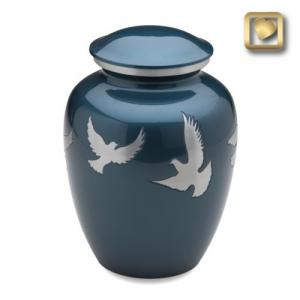 Flying Doves Cremation Urn