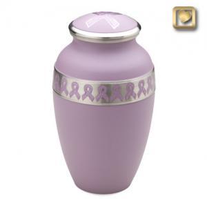Pink Awareness Cremation Urn