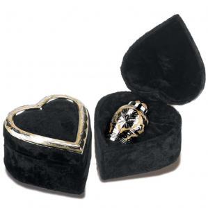 Silver-Gold Keepsake Cremation Urn