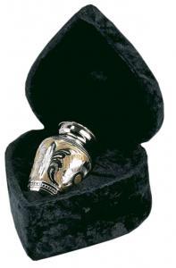 Classic SilverGold Keepsake Cremation Urn