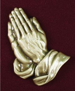 Praying Hands Applique