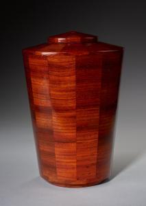 Joy Padauk Wood Cremation Urn