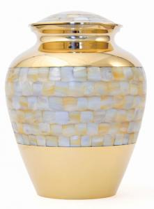 Adult Mother of Pearl Cremation Urn