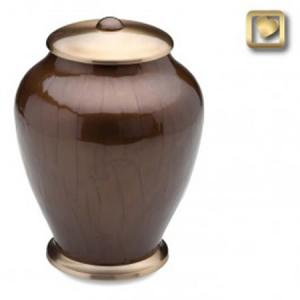 Simplicity Bronze Adult Cremation Urn