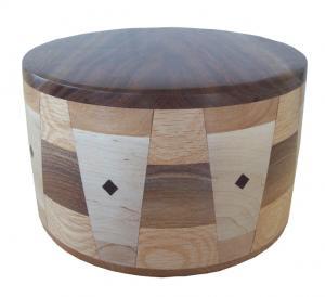 Talbot - Turned Hardwood Cremation Urn