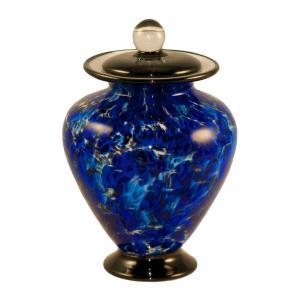 Amato Art Glass Small Cremation Urn