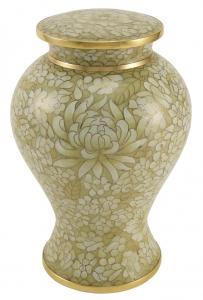 Etienne Opal Cloisonne Cremation Urn